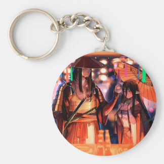 When Warriors Turn To Lovers Keychain