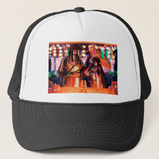 When Warriors Turn To Lovers Trucker Hat