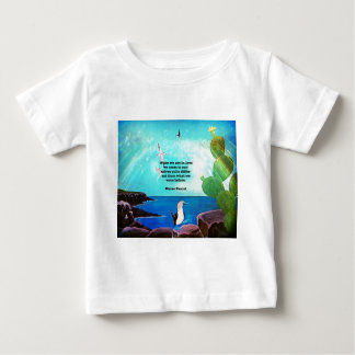 When We Are In Love Inspirational Quote Baby T-Shirt