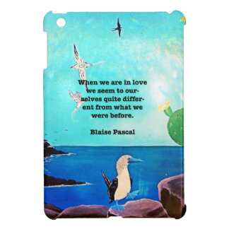 When We Are In Love Inspirational Quote iPad Mini Cases