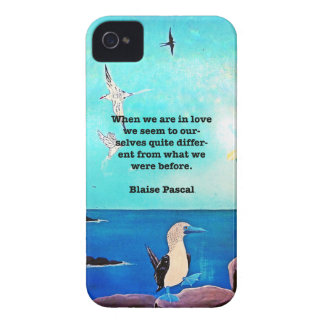 When We Are In Love Inspirational Quote iPhone 4 Case-Mate Cases