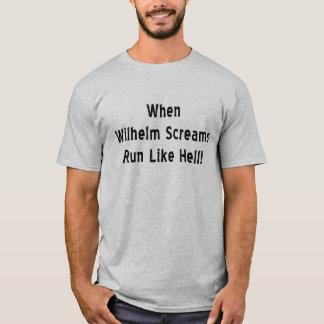 When Wilhelm Screams T-Shirt