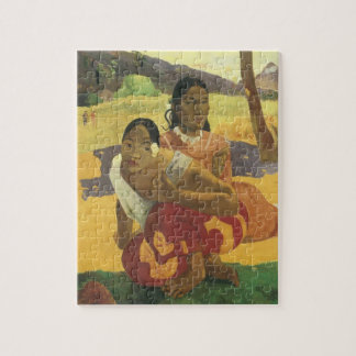 When Will You Marry? by Paul Gauguin, Vintage Art Jigsaw Puzzle