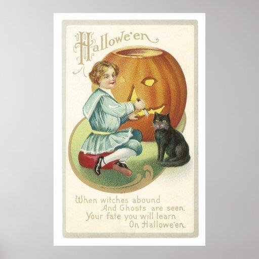 When Witches Abound Print