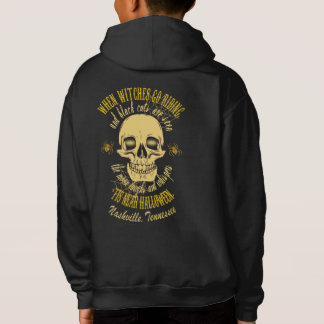 When Witches Go Riding Halloween Kids' Hoodies