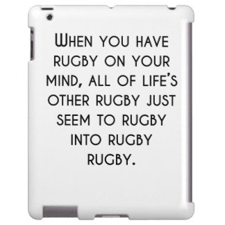 When You Have Rugby On Your Mind