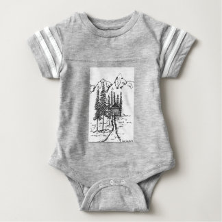 When you need a bit of home. baby bodysuit