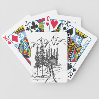 When you need a bit of home. bicycle playing cards