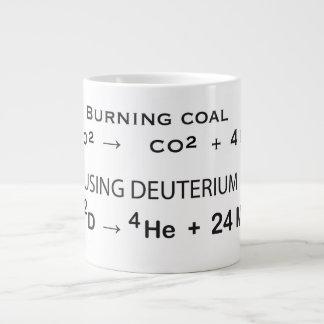 When you need energy ... large coffee mug