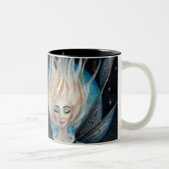 When you wish upon a star Two-Tone coffee mug