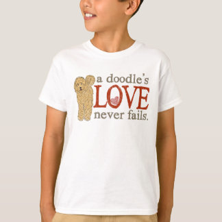 When your best friend is a Goldendoodle T-Shirt