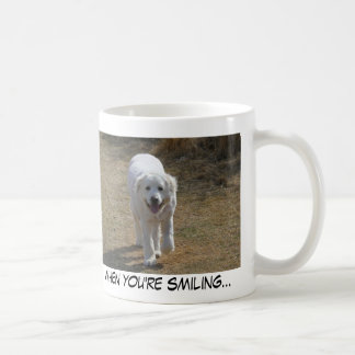 when you're smiling...mug coffee mug