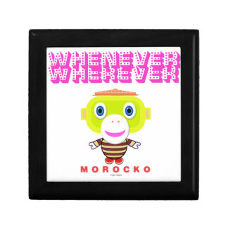 Whenever Wherever-Cute Monkey-Morocko Gift Box