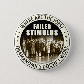 Where Are The Jobs? 2 Inch Round Button