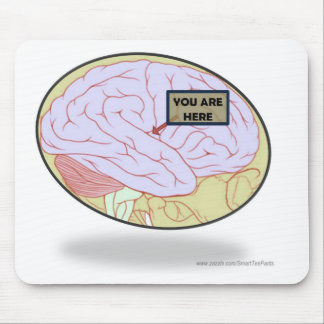 Where are we? We are here. Mouse Pad