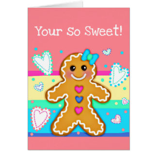 Where Cookies Smile & Love Flurries(your so Sweet) Card