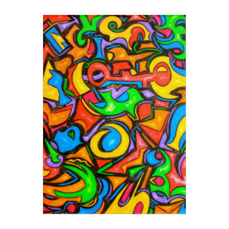 Where Did You Hide The Candy?-Abstract Art