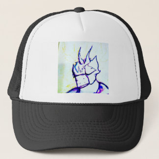 Where do I Stand by Luminosity Trucker Hat
