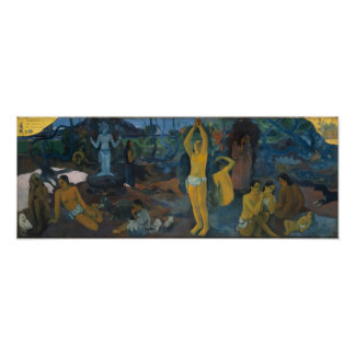 'Where Do We Come From?' - Paul Gauguin Print
