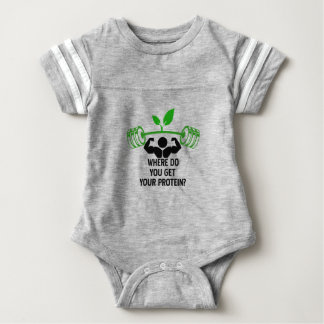 Where do you get your protein baby bodysuit