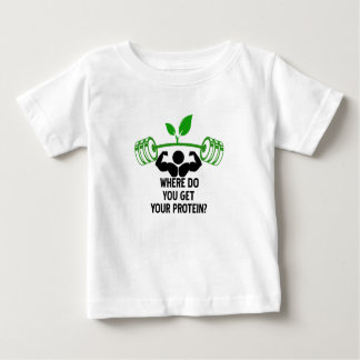 Where do you get your protein baby T-Shirt