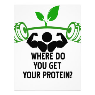 Where do you get your protein letterhead design