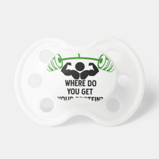 Where do you get your protein pacifier