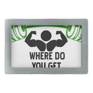 Where do you get your protein rectangular belt buckles