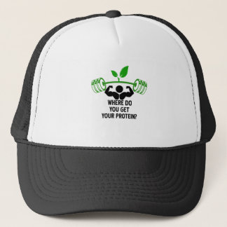 Where do you get your protein trucker hat