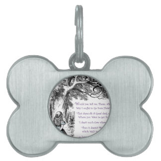 Where Do You Want To Go Pet ID Tags