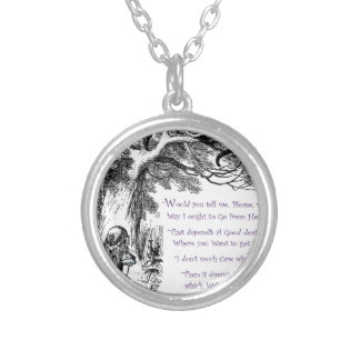 Where Do You Want To Go Silver Plated Necklace