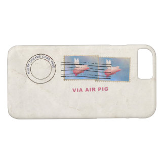 Where Dreams Come True - Via Air Pig iPhone 8/7 Case