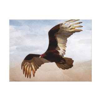 Where Eagles Soar Gallery Wrapped Canvas