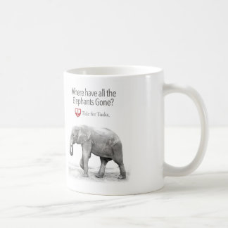 Where have all the elephants gone coffee cup