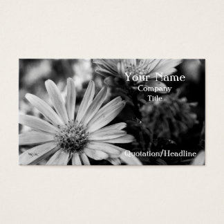 Where Have All The Flowers Gone Business Card
