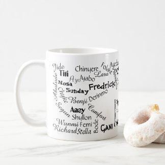 Where is my name Mug.v4 Coffee Mug