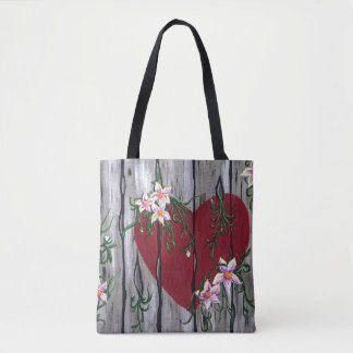 Where Love Grows Tote Bag