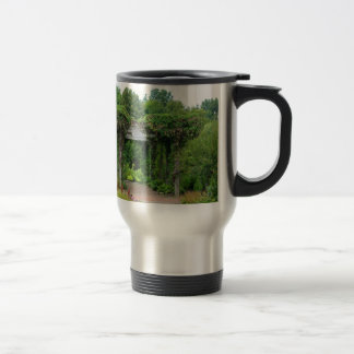 Where Petals Fall Travel Mug