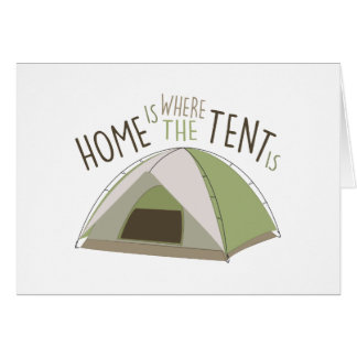 Where Tent Is Card
