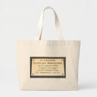 Where Terror Went To Die: Robespierre's Tote Bag