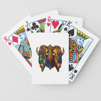 Where the buffalo roam bicycle playing cards