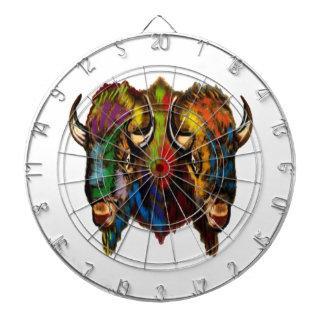 Where the buffalo roam dartboard