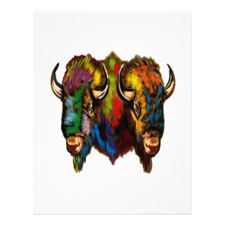 Where the buffalo roam letterhead