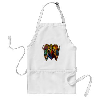 Where the buffalo roam standard apron