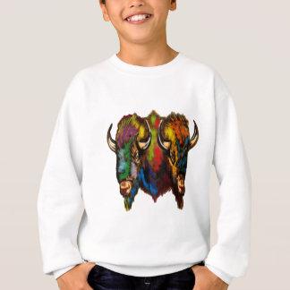 Where the buffalo roam sweatshirt