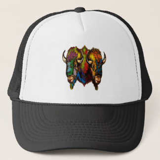 Where the buffalo roam trucker hat