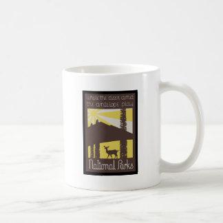 where the deer and antelope play coffee mug