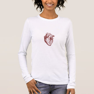Where the Heart is (red) Long Sleeve T-Shirt