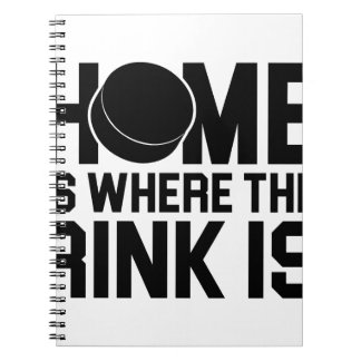 Where the Rink Is Notebook