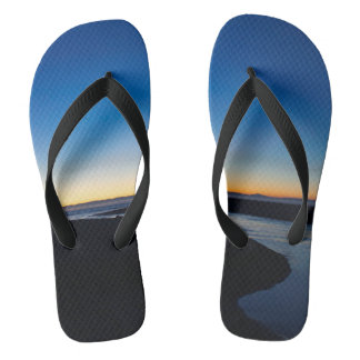 Where the River Meets the Sea Flip Flops